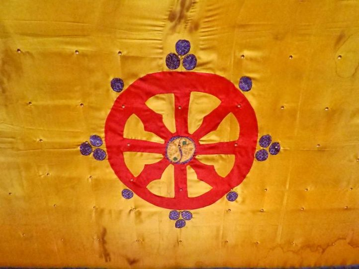 La roue du Dharma, les enseignements bouddhistes